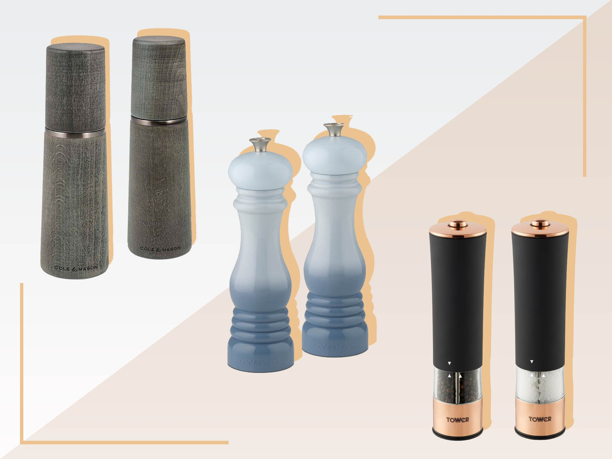 best salt and pepper mills 2020: wooden, electric and
