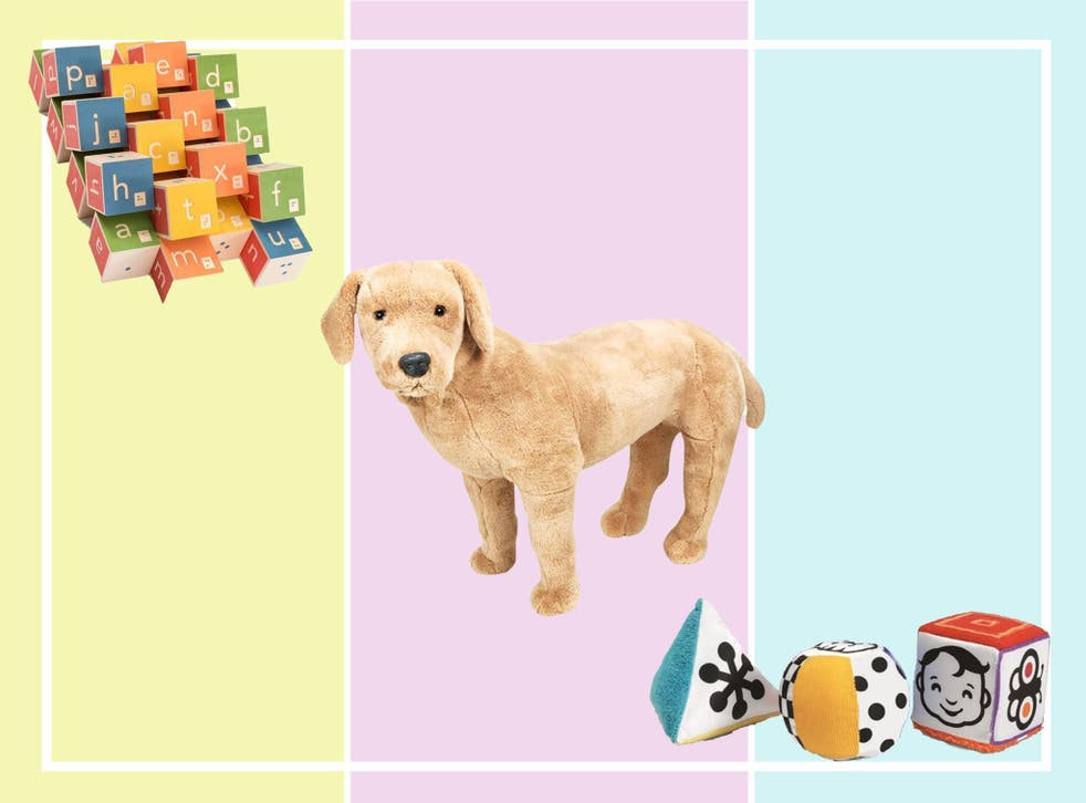 Help them learn braille, or get used to the idea of having a dog to help them with these clever toys