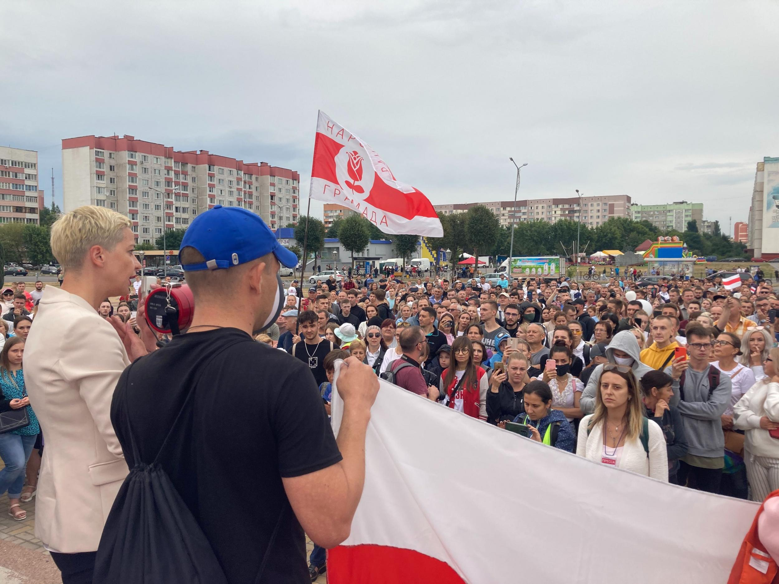 Belarusian protest leader Maria Kolesnikova says country must be prepared for the long game: 'Victory isn't coming tomorrow'