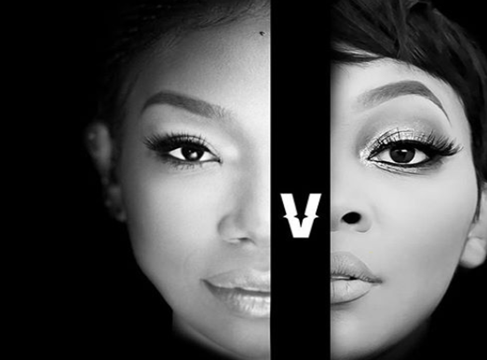Promotional artwork for the Brandy vs Monica Verzuz battle
