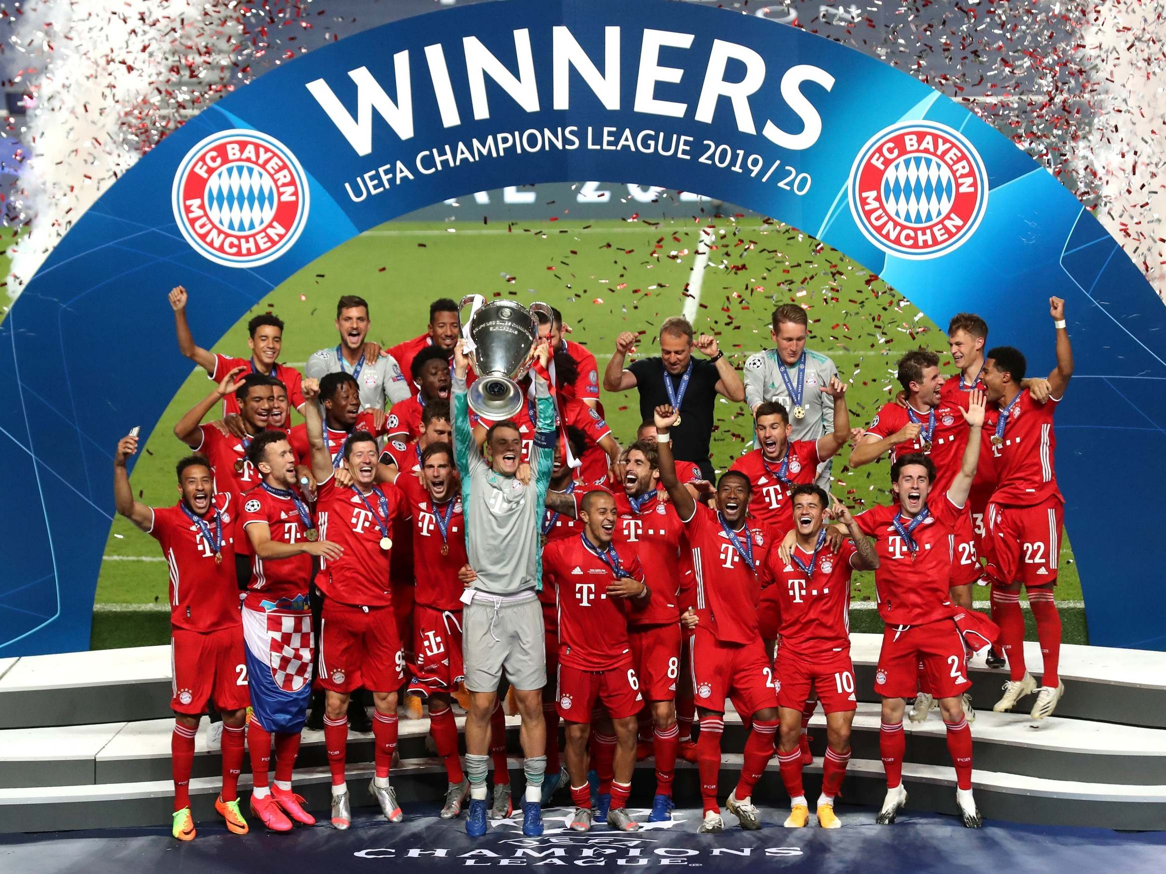 Bayern Munich Win Champions League Final The Independent The Independent