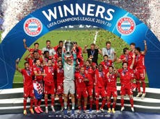 Coman's header downs PSG to hand Bayern sixth European crown