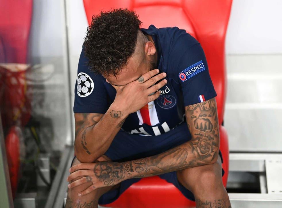 Neymar no pudo guiar a su equipo a su primer título de la Champions League
