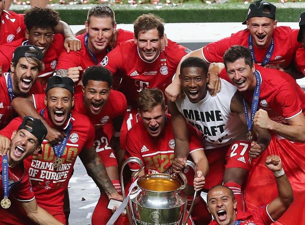 El Bayern Munich celebra su sexta corona europea