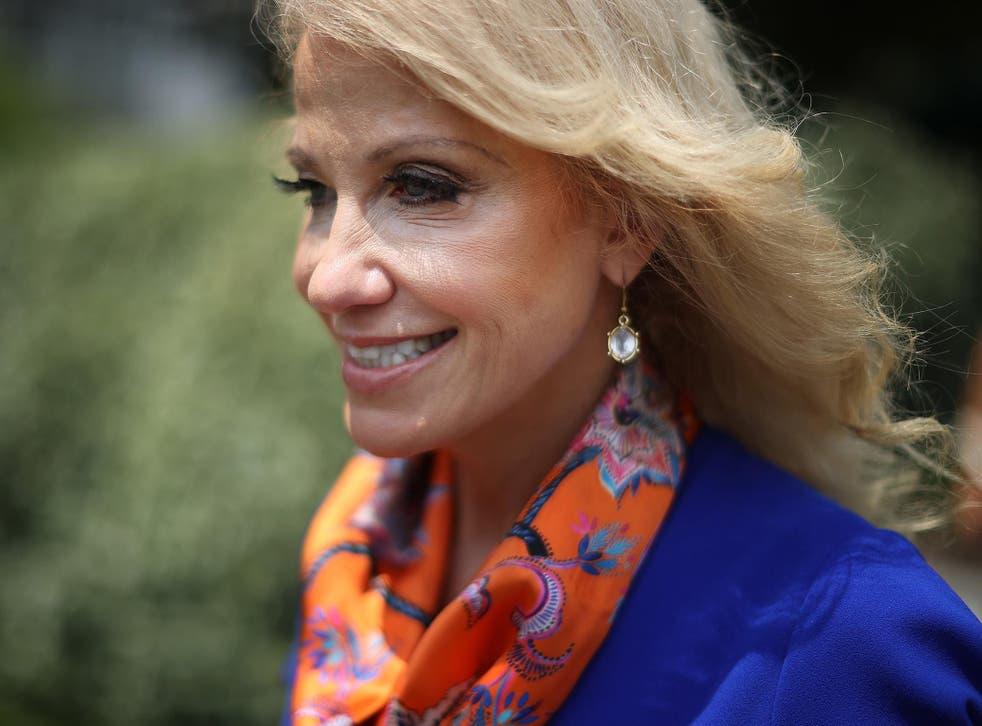 Conway se ha desempeñado como asesora del presidente durante todo su mandato