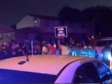 Protests erupt following police shooting of 'unarmed black man'