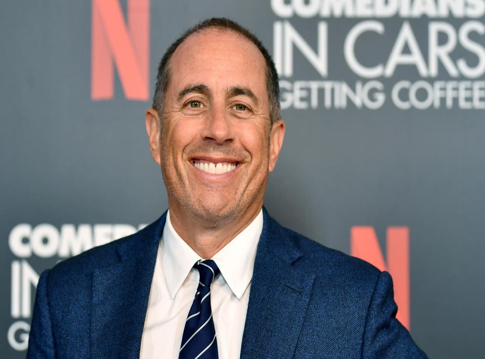Jerry Seinfeld at an event for his show 'Comedians in Cars Getting Coffee' on 17 July 2019 in Beverly Hills.