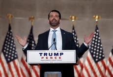 Don Jr addresses rumors he was on cocaine during RNC speech