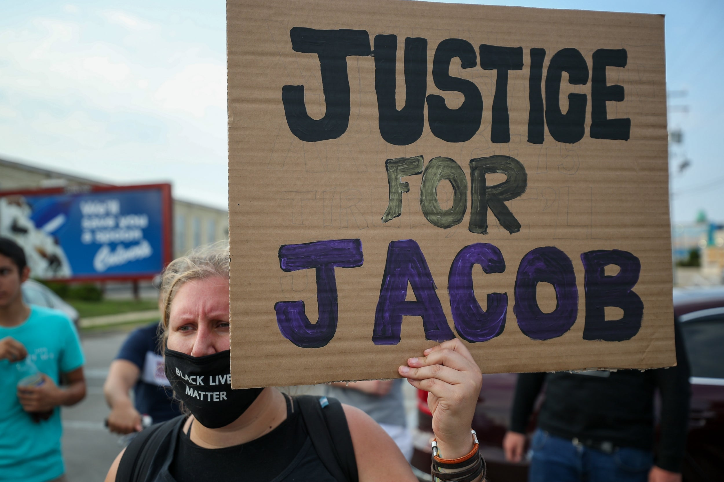 Wisconsin protests: Man who filmed Jacob Blake's shooting says he ...