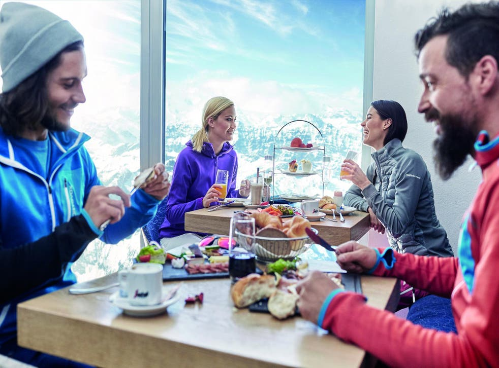 Enjoy food with a view at Gipfel Restaurant, the highest in SalzburgerLand
