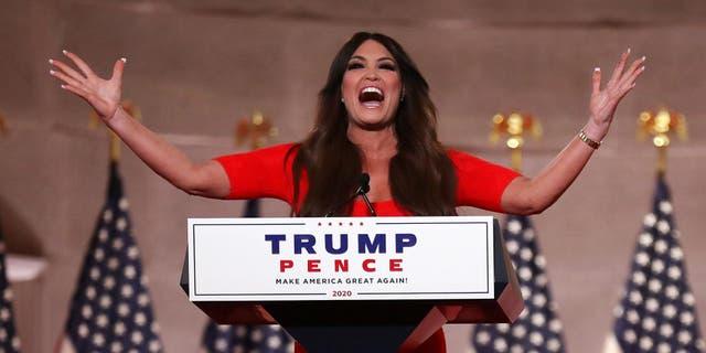 <p>Former <em>Fox News</em> host Kimberly Guilfoyle has been named national chair of Eric Greitens' Senate campaign</p>