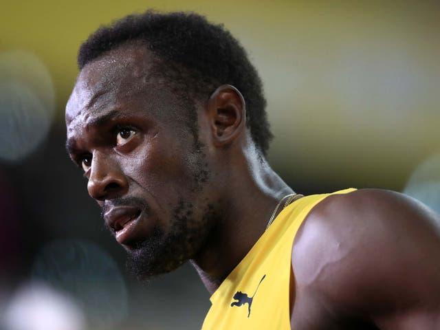 Bolt aseguró el lunes que no presentaba síntomas de la enfermedad