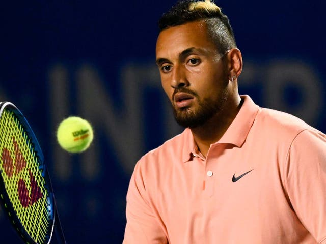 Nick Kyrgios hit out at Novak Djokovic once again due to the Adria Tour