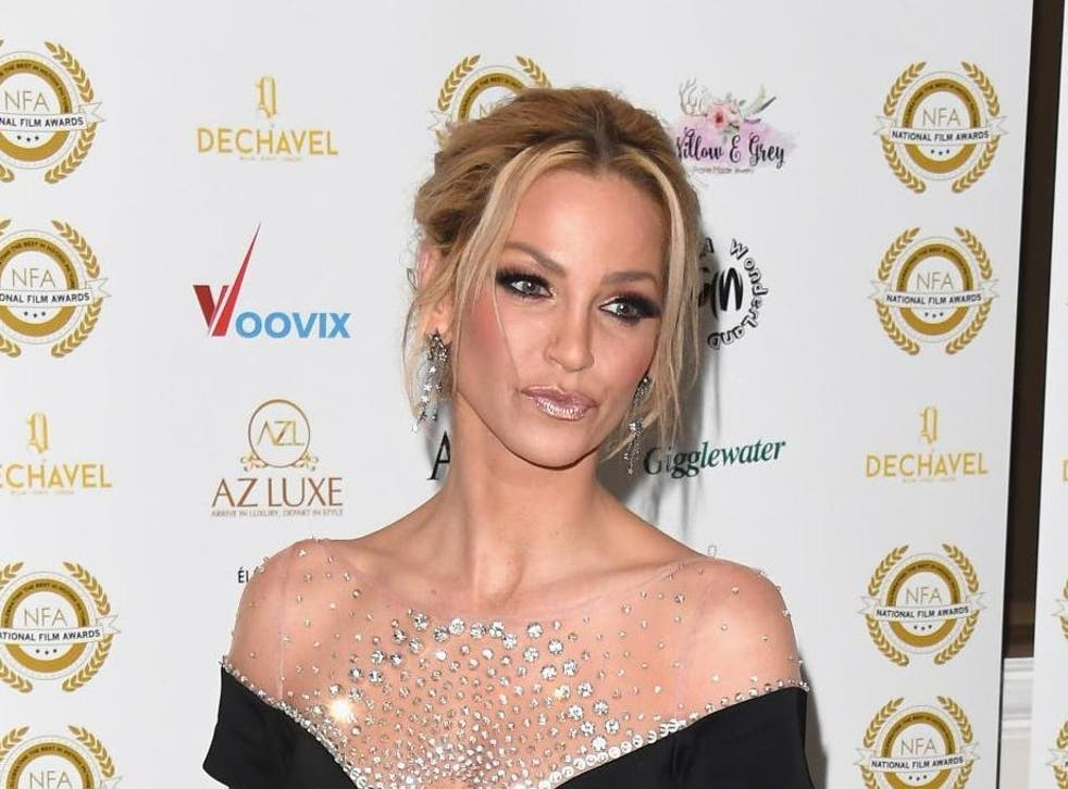 Sarah Harding has been diagnosed with breast cancer
