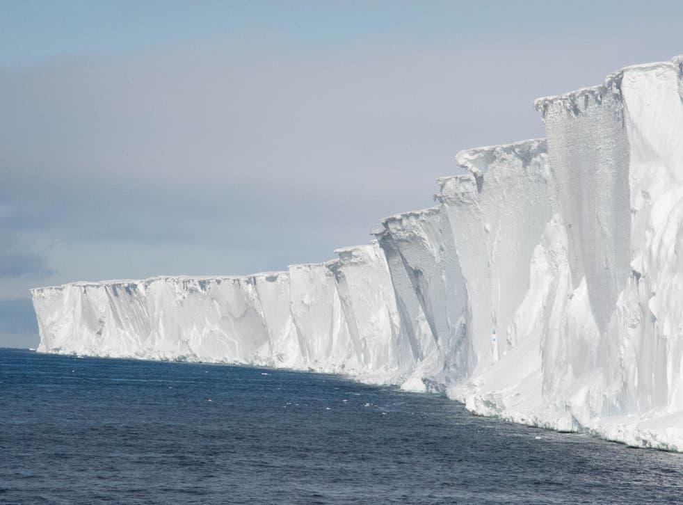 La plataforma de hielo del mar de Ross es la más grande de la Antártida