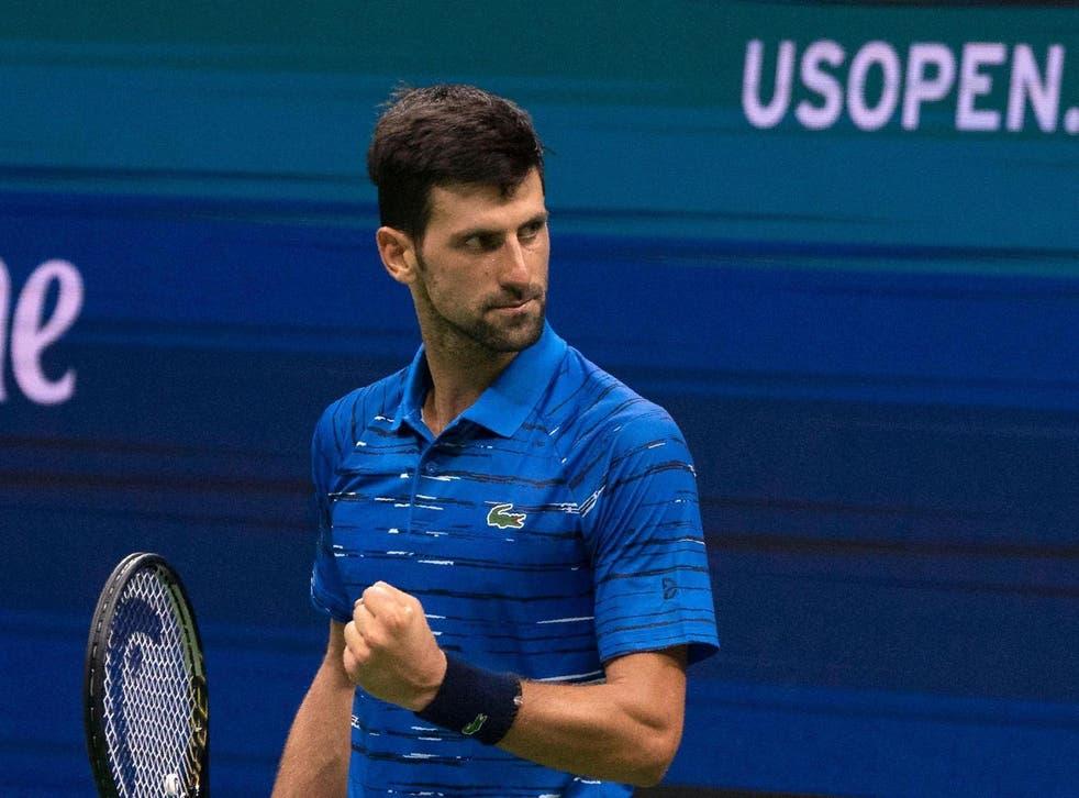 Three-time US Open champion Novak Djokovic