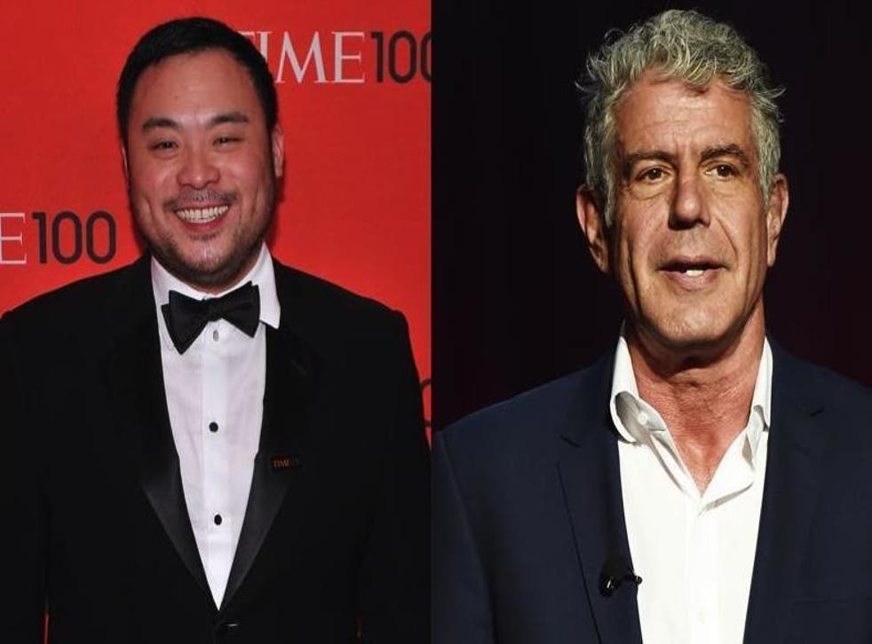 David Chang opens up about regret he feels over Anthony Bourdain's death (Getty)