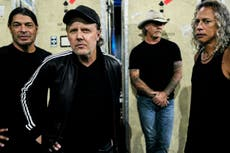 Metallica: 'We're lucky we don't have to play by the rules'