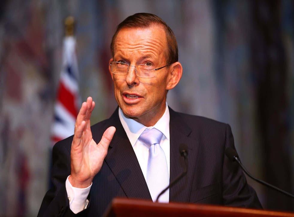 Abbott is teaming up with trade secretary Liz Truss