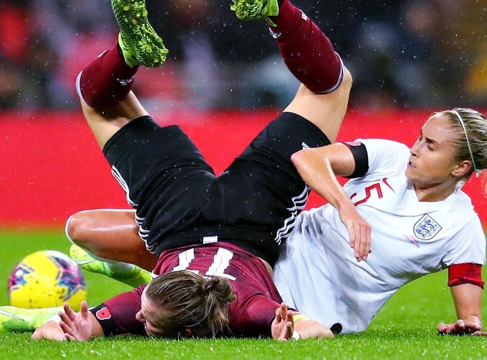 England last faced Germany in November 2019 as the visitors won 2-1 at Wembley