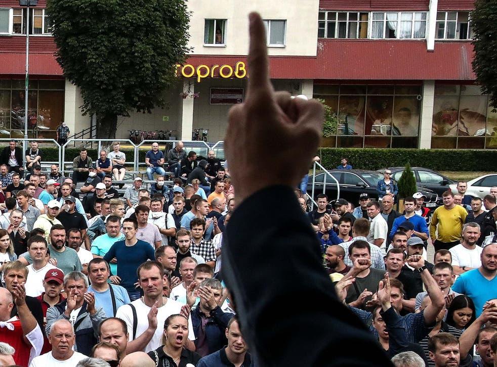 Las autoridades han logrado romper la huelga en la fábrica, según un portavoz del comité de huelga de Belaruskaili.