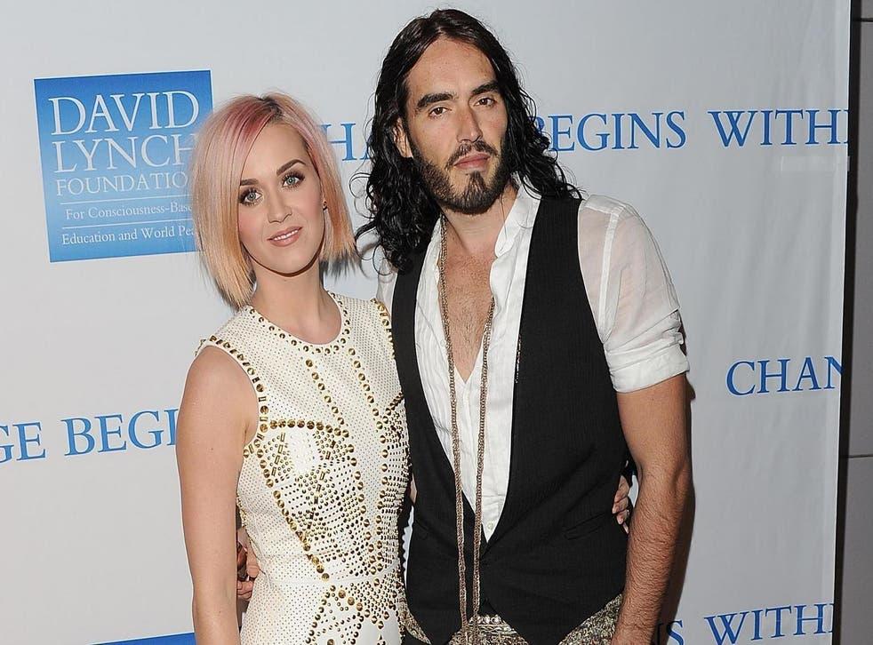 Katy Perry se sincera sobre el matrimonio con Russell Brand