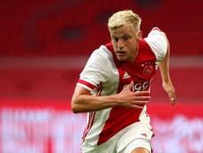 Donny van de Beek ficha por el Manchester United por 45 millones de dólares