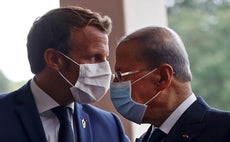 Macron warns Lebanon's leaders risk sanctions if country fails to reform