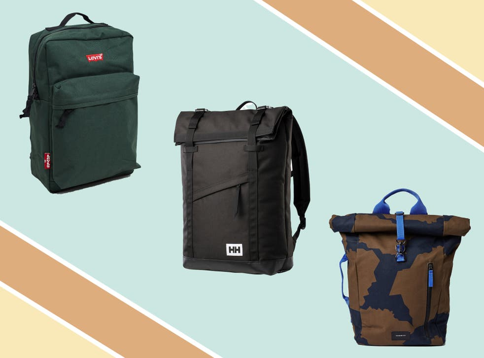 Some of these options have laptop compartments, are waterproof or can be used as a cycling bag