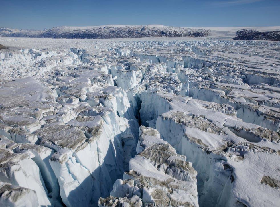 Groenlandia perdió miles de millones de toneladas de hielo debido al calentamiento global el año pasado