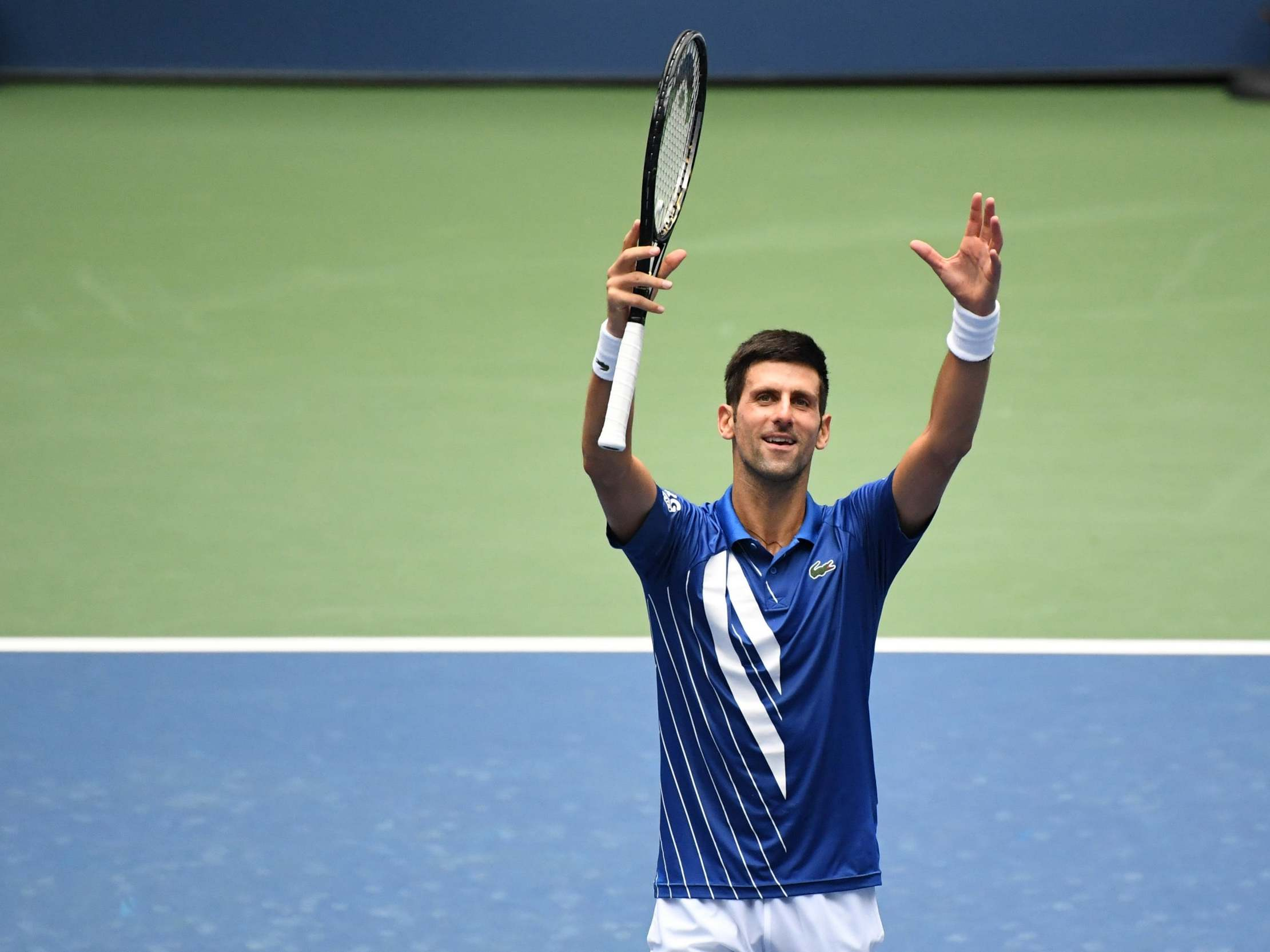Us Open Results Novak Djokovic Survives Scare To Eliminate Kyle Edmund As Cameron Norrie Reaches Third Round The Independent The Independent