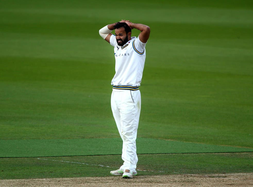 Azeem Rafiq quit cricket after suffering from alleged racism during his time at Yorkshire