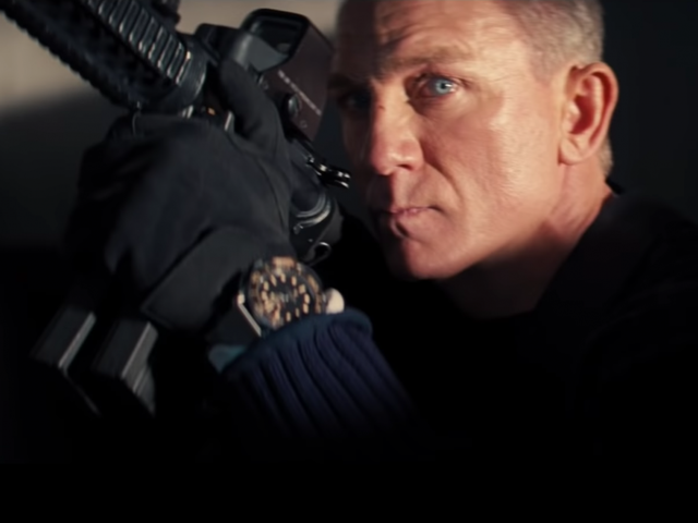 'No Time to Die' is Craig's last outing as 007