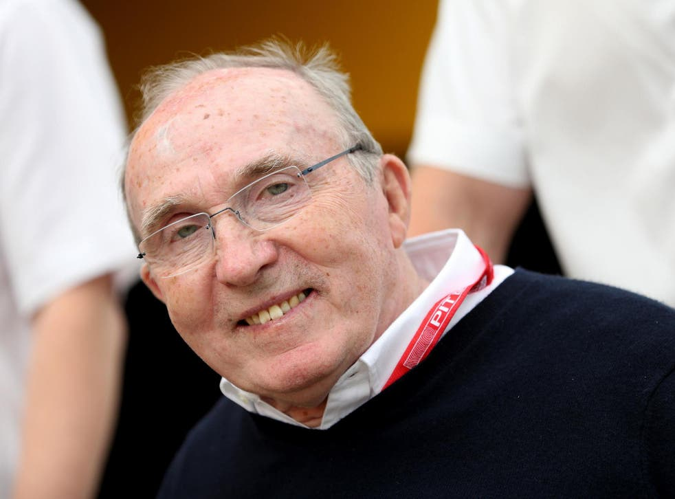 Sir Frank Williams founded the team in 1977
