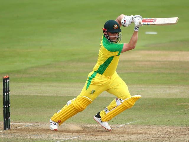 Aaron Finch will lead Australia in England