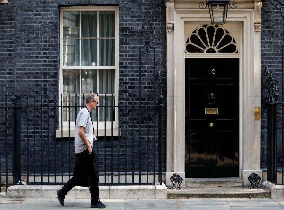 Boris Johnson's chief adviser has set up a new 'mission control' office next door to No 10