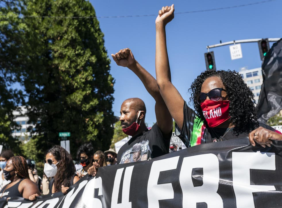 La población afroamericana de Oregón es del tres por ciento y en Portland solo del seis por ciento