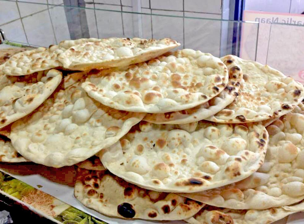 Naan the wiser: some might argue you don't 'need' bread with a curry. I disagree