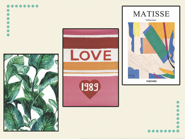 From Matisse-inspired art to typography to get you dancing, emblazon your walls with these