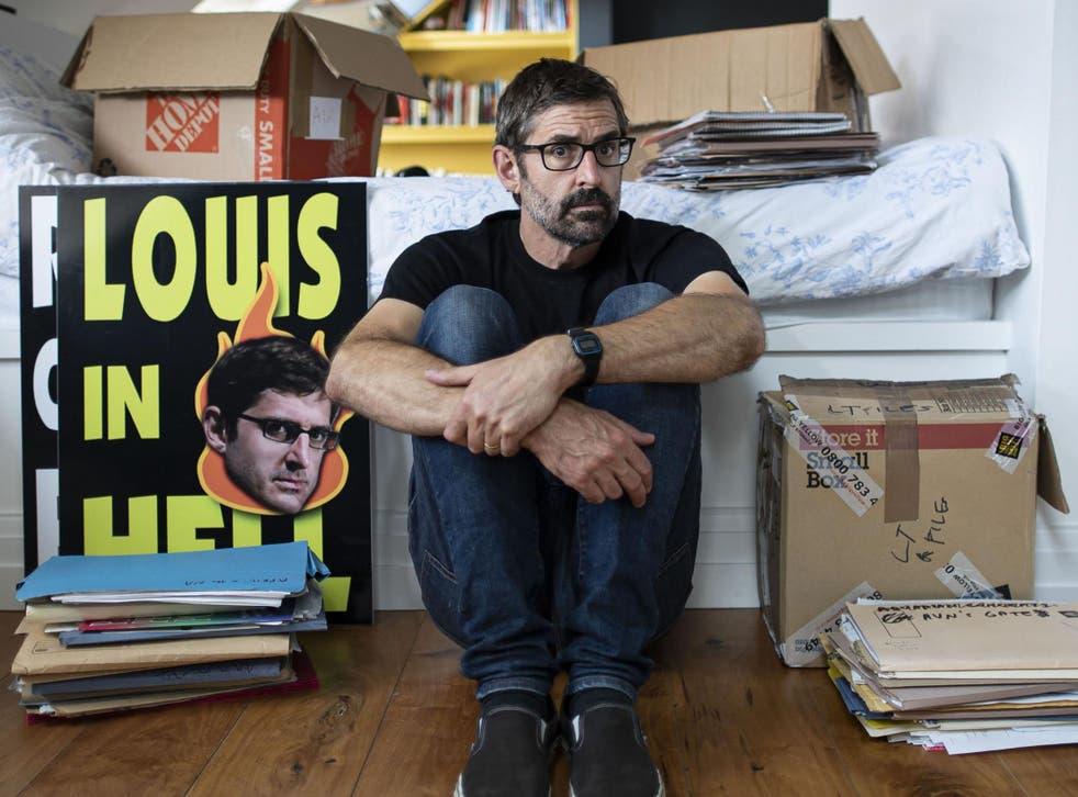 Louis Theroux reflects on a long career in TV in the four-part series 'Life on the Edge'