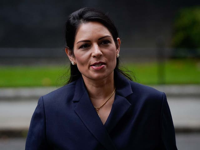 <p>Priti Patel contacted senior police officers several times about the protest</p>