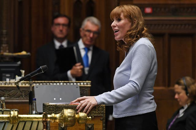 <p>Angela Rayner intends to press the attack on 'Tory sleaze'</p>