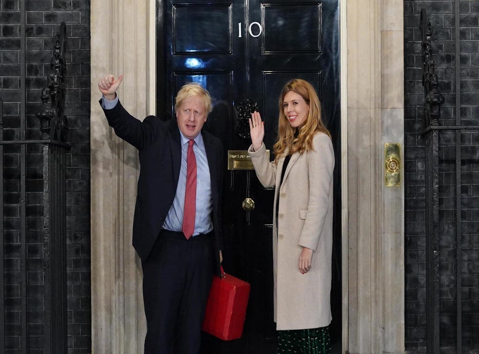 <p>The art will be displayed in the Downing Street flat that PM Boris Johnson and his wife Carrie live in </p>