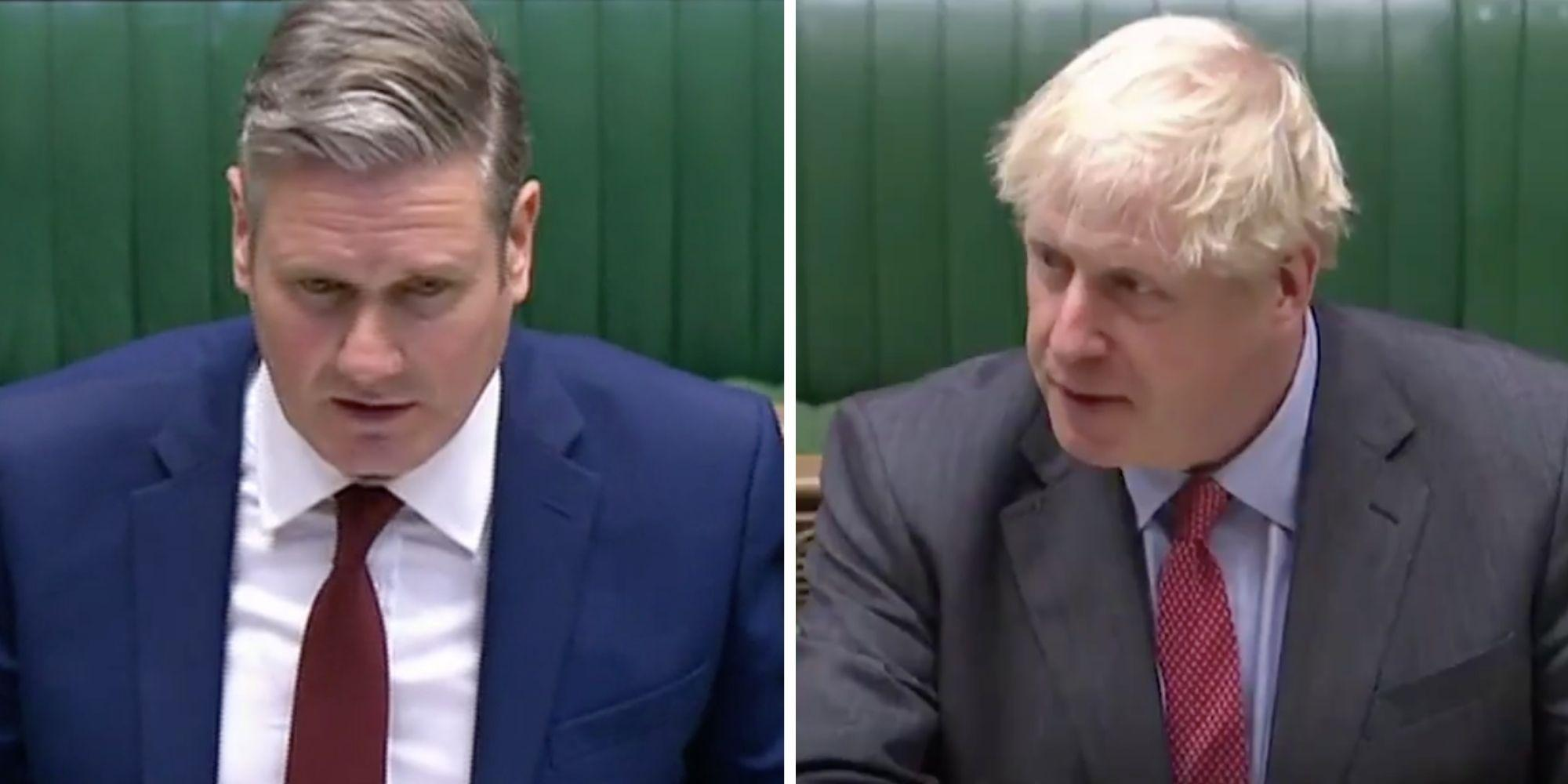 Keir Starmer dismantles Boris Johnson's major announcement with one crucial point