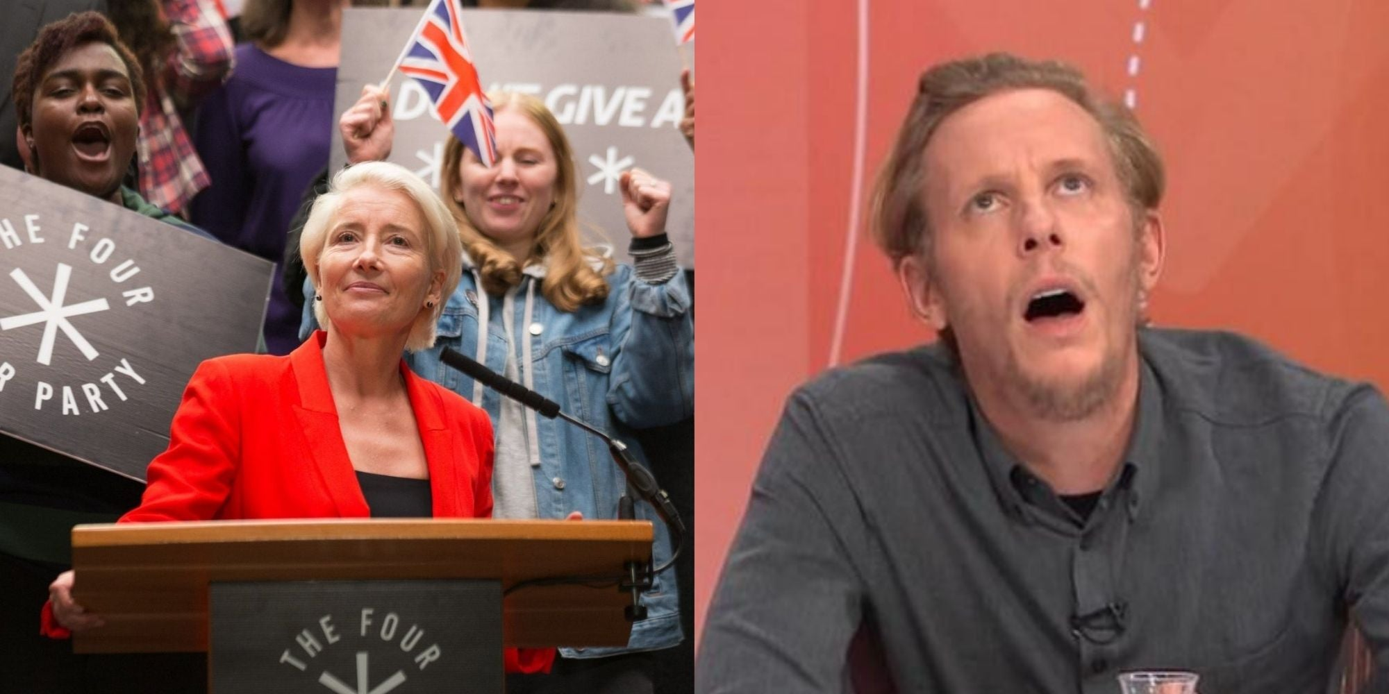 Laurence Fox's new political party is reminding people of a chilling plot from Years and Years
