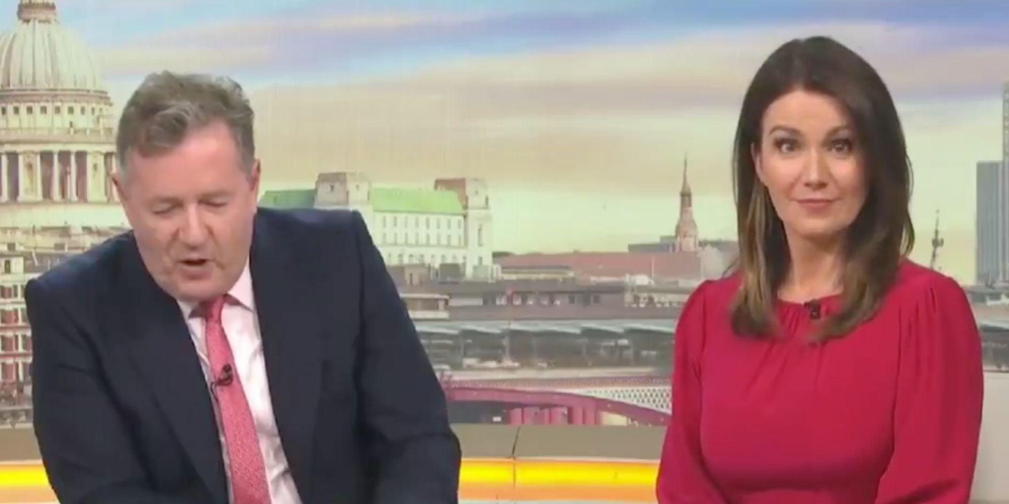 Piers Morgan just called Boris Johnson a 'nincompoop, sozzled, bonking, cad Prime Minister' thumbnail