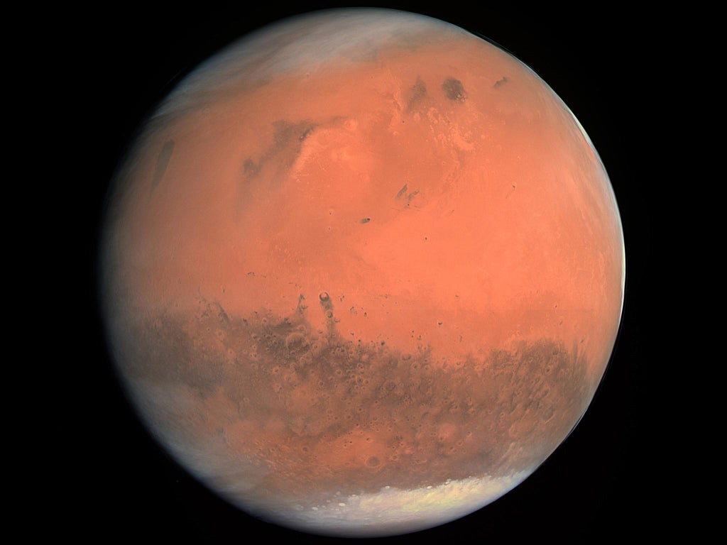 Nasa solves mystery of Martian 'craters' after discovering evidence of thousands of 'super eruptions'