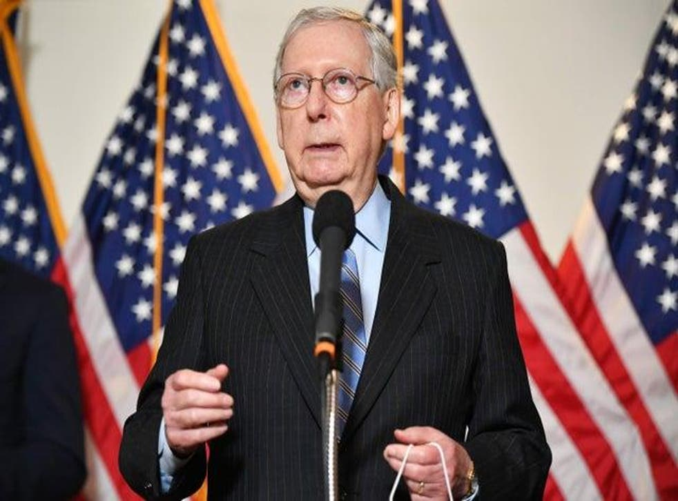 <p>Few Republicans trigger more loathing among Democrats than Mr McConnell</p>