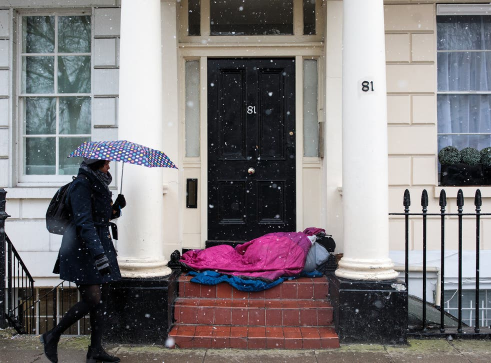 <p>The government has pledged to end rough sleeping by three years' time</p>