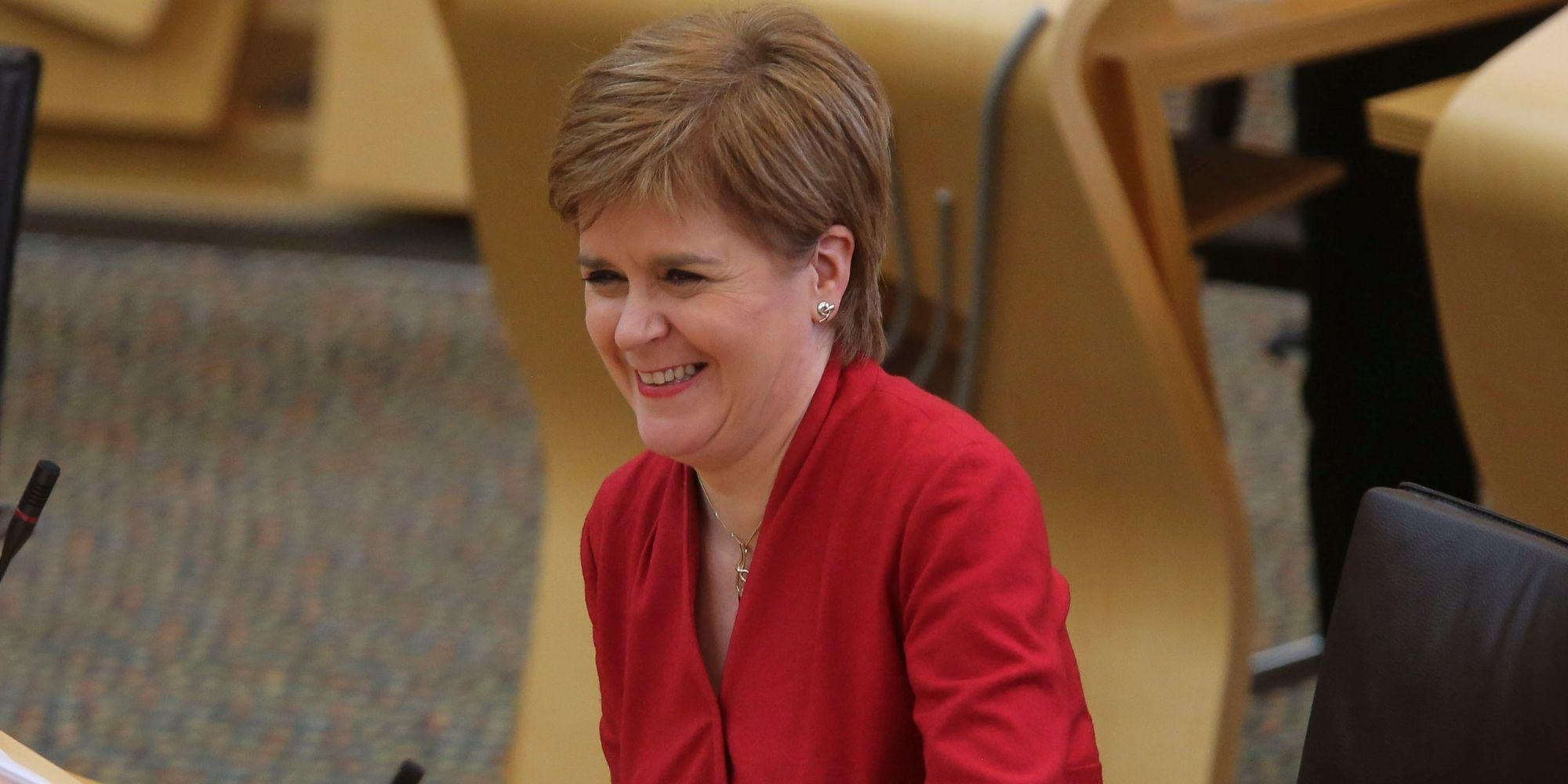Nicola Sturgeon had the best response to this viral video of a 7-year-old boy impersonating her